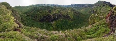 пиковое вулканическое Стоковые Фотографии RF