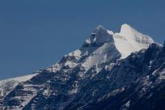 пиковое снежное Стоковое Изображение