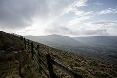 Пиковый район, скалистая вершина Mam Стоковые Фотографии RF