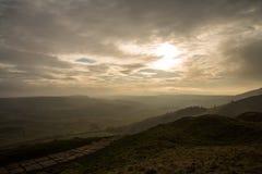 Пиковый район, скалистая вершина Mam Стоковые Изображения RF