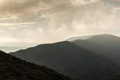 Пиковый район, скалистая вершина Mam Стоковая Фотография RF