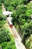 пиковый трам Стоковая Фотография RF