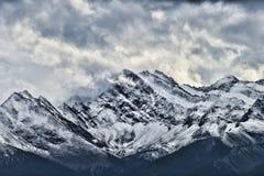 10 пиков Banff Стоковые Фотографии RF
