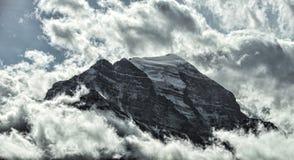 10 пиков Banff Стоковые Изображения RF