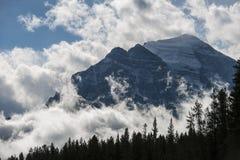 10 пиков Banff Стоковое Изображение