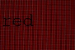 пикселы красные Стоковая Фотография RF