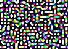 пикселы Иллюстрация штока