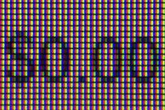 Пикселы макроса с 0 долларами стоковое изображение rf