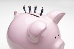 пик активности канала банкошетов Стоковая Фотография RF