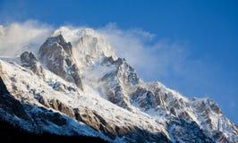 пик высокой горы Стоковые Изображения