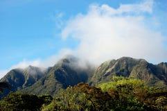 пик высокой горы Стоковые Фото