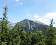 Пик в высоком Tatras стоковое фото