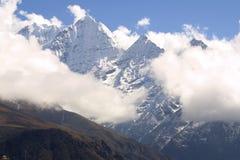 пик горы Гималаев Стоковая Фотография