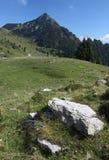 пик горы Италии следующий к tremalzo Стоковая Фотография