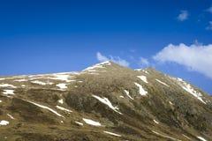 Пик горы на Андорре Стоковое Изображение