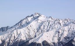 Пик горы около Сочи Стоковое Фото