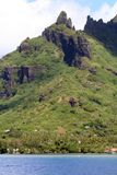 пик горы тропический стоковая фотография
