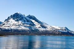 пик горы Стоковое Изображение RF