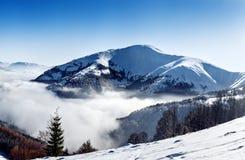 Пик горы Стоковые Изображения