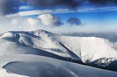 Пик горы Стоковая Фотография