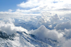 пик горы alps Стоковая Фотография RF