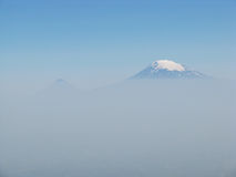 пик горы ararat Стоковое фото RF