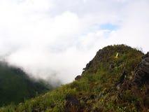 Пик горы Chiang Dao, Таиланда mai chiang 25 Novem Стоковые Изображения RF