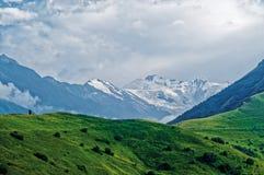 Пик горы Kazbek Стоковые Изображения RF