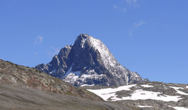 пик горы les deux alpes Стоковые Фото