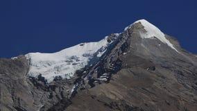 Пик и ледник Pisang Стоковые Изображения