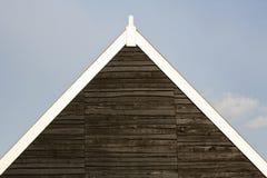 Пик крыши стоковая фотография rf