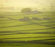 пик национального парка Англии заречья derbyshire Стоковое Фото