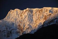 пик Непала annapurna Стоковые Изображения RF