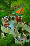 пик павильона льва Hong Kong стоковые фото