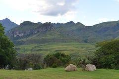 Пик собора, горы Drakenberg Стоковое Изображение RF
