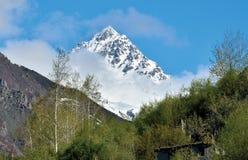 Пик холма тигра, Drass-Kargil, Джамму и Кашмир, Ladakh Стоковое фото RF