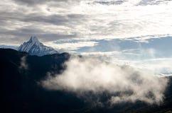 Пик Annapurna Стоковое Фото