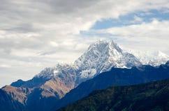 Пик Annapurna Стоковые Фотографии RF
