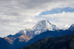 Пик Annapurna Стоковые Изображения