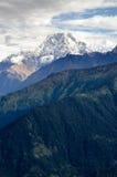Пик Annapurna Стоковое Изображение RF