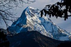 Пик Annapurna Стоковое Изображение