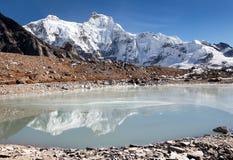 Пик Chakung или держатель Hungchhi (7029m) Стоковые Фото