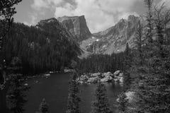 Пик Haliett, национальный парк 8 скалистой горы Стоковые Фото