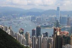 пик Hong Kong Стоковые Фотографии RF