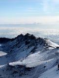Пик Kilimajaro, Африка Стоковое Изображение RF