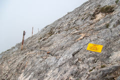 Пик Koncheto на горе Pirin Стоковое фото RF