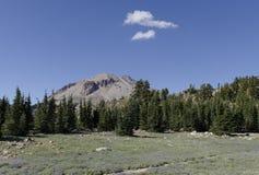 Пик Lassen держателя вулканический Стоковые Изображения
