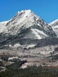 Пик Predne Solisko в высоком Tatras Стоковая Фотография RF