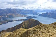 Пик Roys, Новая Зеландия стоковое фото rf