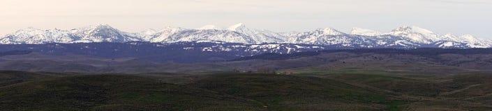 Пик Sacajawea положения Орегона гор Wallowa стоковая фотография
